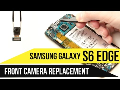 Galaxy S6 Edge Front Camera Replacement Video Guide