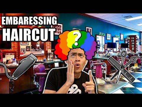 GETTING THE MOST EMBARRASSING HAIRCUT EVER!