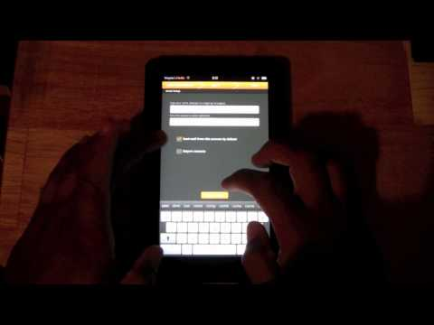 Kindle Fire - How to Set Up Email | H2TechVideos