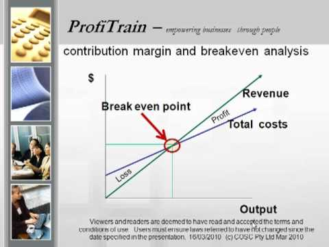 (Contribution Margin and