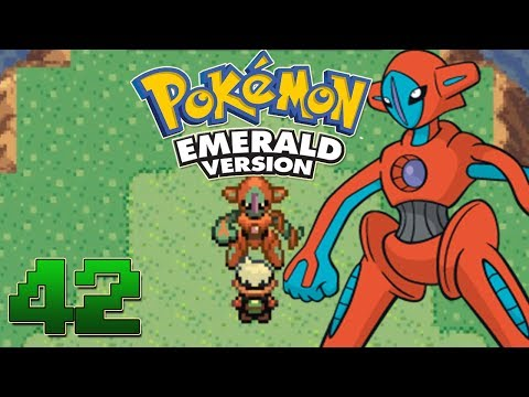 Let's Play Pokemon Emerald Part 42 - Deoxys Event