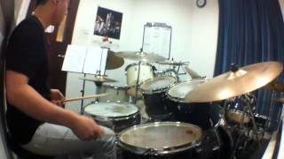 Drum Rendition of Take Cover by Mr BIG  Just trying to groove as hard as possible though there