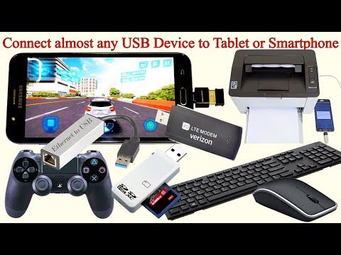 10 Super Functions of Android Smartphone & Tablet. Add USB port to your smatphone or Tablet