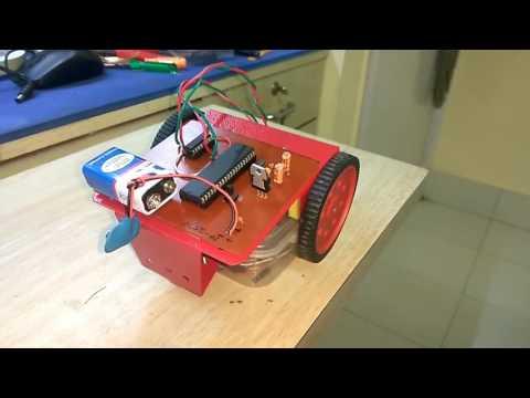 Autonomous Robot using 8051 microcontroller.