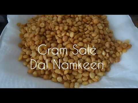 Salted Dal Namkeen (Dal Gram Salé Mauritian)
