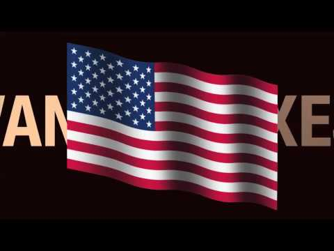 Apple Motion Project: a FREE American flag animation
