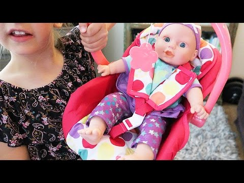 Car Seat Circo Feed & Sleep Baby Doll With Bottle Babydoll Carrier