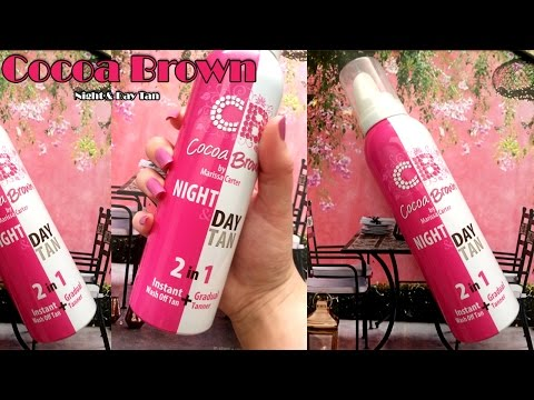 Demo & Review: Cocoa Brown Night & Day Tan