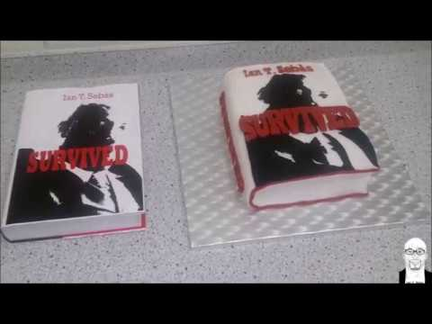The SURVIVED Book Cake