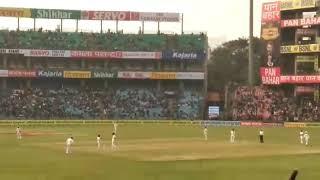 Virat Kohli 20th test century celebrations vs Srilanka at Delhi
