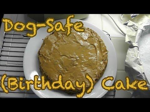 Dog-Safe Birthday Cake