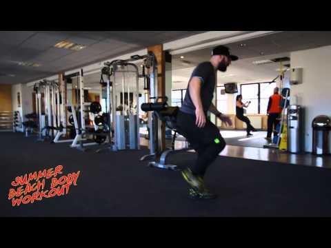 Summer Beach Body Workout - Part 1 Legs
