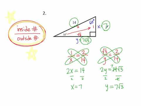 9.5j 30-60-90 Special Right Triangle