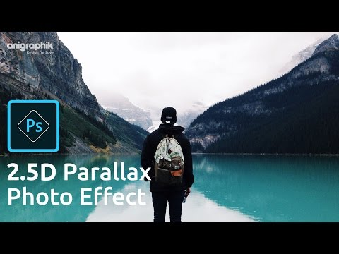 2.5D Parallax Photo Effect  in Photoshop Cs6 | Photoshop Hindi Tutorial
