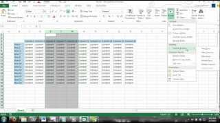 Excel 2013 Tutorial For Noobs Part 21 How To Delete Hide Unhide Rows