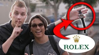 How to STEAL a ROLEX WATCH?