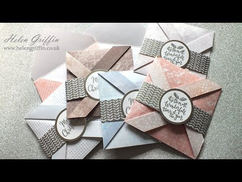 2nd Day of Christmas 2017 | Pinwheel Christmas Cards & Envelopes