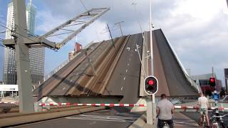 Rotterdam ♥ 2014 - Erasmus Bridge (Opening and Closing)
