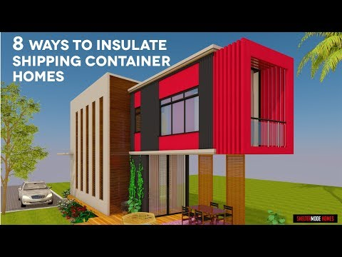 Top 8 Insulation and Temperature Control Strategies for Shipping Container Homes | by SHELTERMODE