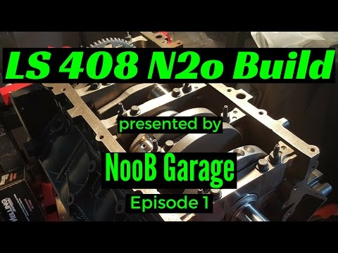 LQ4 408 Stroker Nitrous Build 1