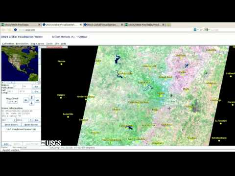 2  How to find free low resolution imagery from GLOVIS - GIS images