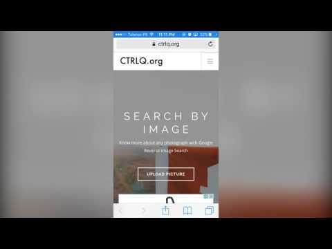 How to Search by Image on Google on Mobile Phone: iPhone/Android (Google Reverse Search)