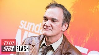 Quentin Tarantino: Sony Pictures Wins Worldwide Rights to Next Film | THR News Flash