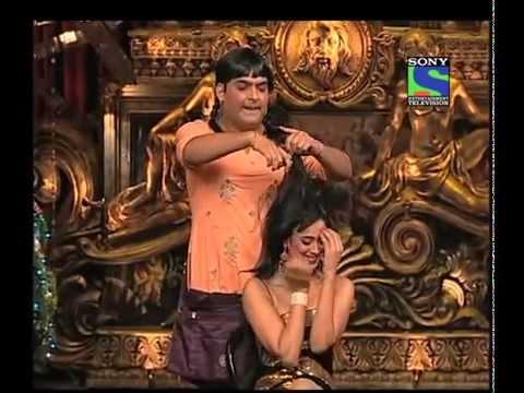 Indian Girl TV Funny Hair Cut