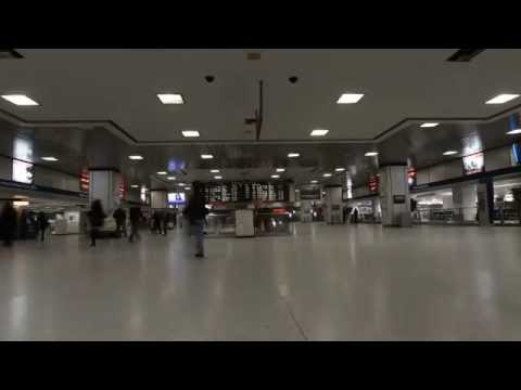 NYC Penn Station Time Lapse