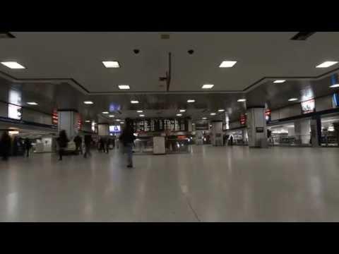 NYC Penn Station Time Lapse