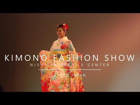 Japan, Kyoto - Kimono Fashion Show (2018)