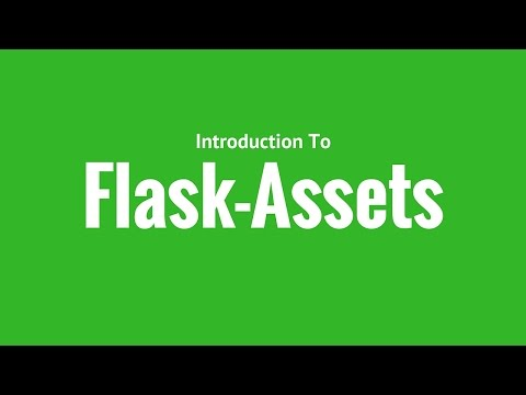 Bundling JavaScript and CSS Files in Flask Using Flask-Assets