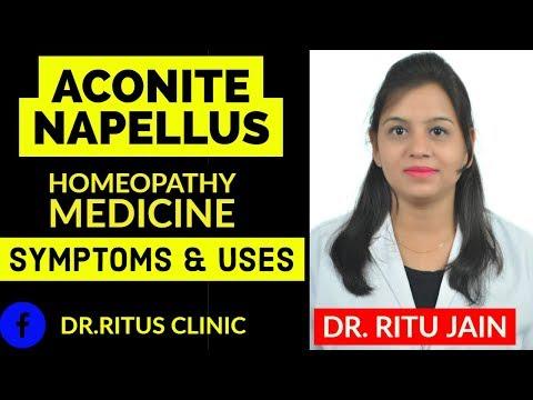 ACONITE NAPELLUS -ACONITUM NAPELLUS HOMEOPATHIC MEDICINE USES & SYMPTOMS