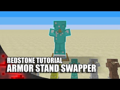 Minecraft: Simple Armor Stand Swapper - All 5 Armor Types