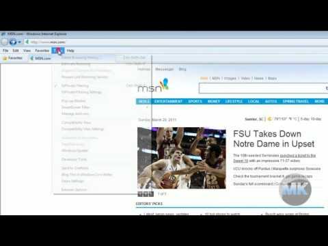 Internet Explorer 8 - Full Screen Mode