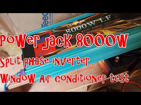 Power Jack 8KW LF inverter can not start everything