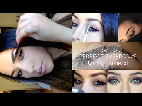 My Official Eyebrow Tutorial ❤︎ Fill | Shape | Arch | How To Get PERFECT Eyebrows