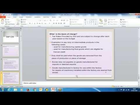 SAP CIN Concept and Configuration