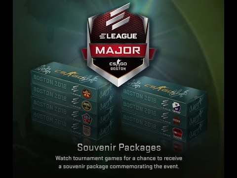 CS:GO Boston 2018 Inferno Souvenir Package Opening / Unboxing