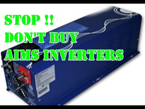 Watch this before you buy an inverter