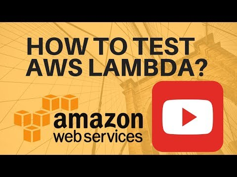 HOW TO TEST AWS LAMBDA IN AWS CONSOLE DEMO
