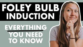 How To INDUCE LABOR WITH A FOLEY BULB   The Induction Series Pt 5
