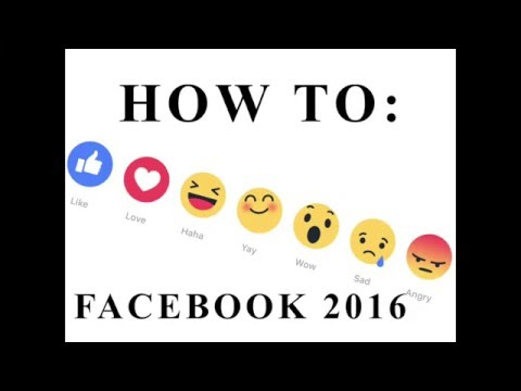 HOW TO USE NEW LIKE BUTTONS FACEBOOK 2016
