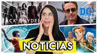 SNYDER CUT CONFIRMADO, Atlantis live-action, Robert Downey a DC, Percy Jackson serie Y MÁS