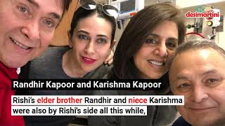 Celebs Who Visited Ailing Rishi Kapoor In New York