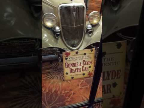 Bonnie and Clydes Death Car, Whiskey Pete's Primm Nevada