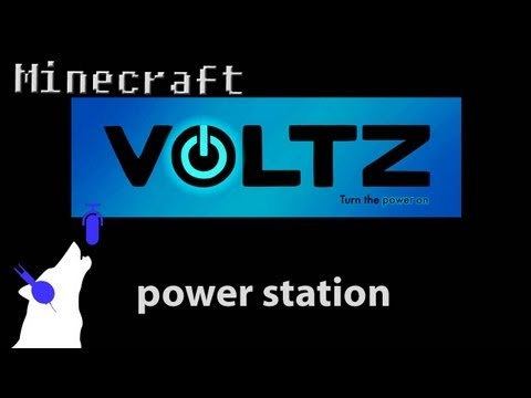 Minecraft - Voltz - power station