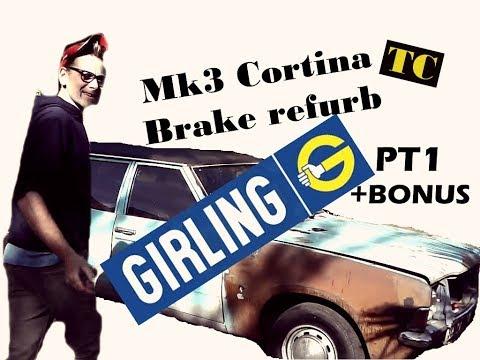 Mk3 Ford Cortina Estate - Brake refurb PT1