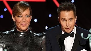 Allison Janney & Sam Rockwell CONTINUE Winning Streak At 2018 SAG Awards