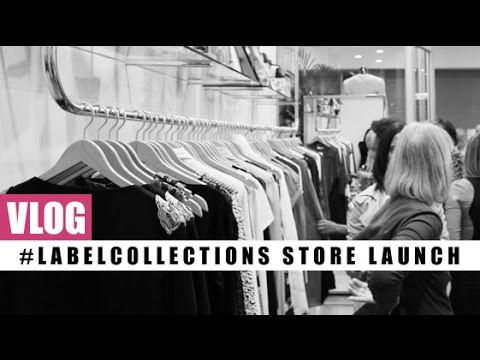 VLOG! #LabelCollections Store Launch
